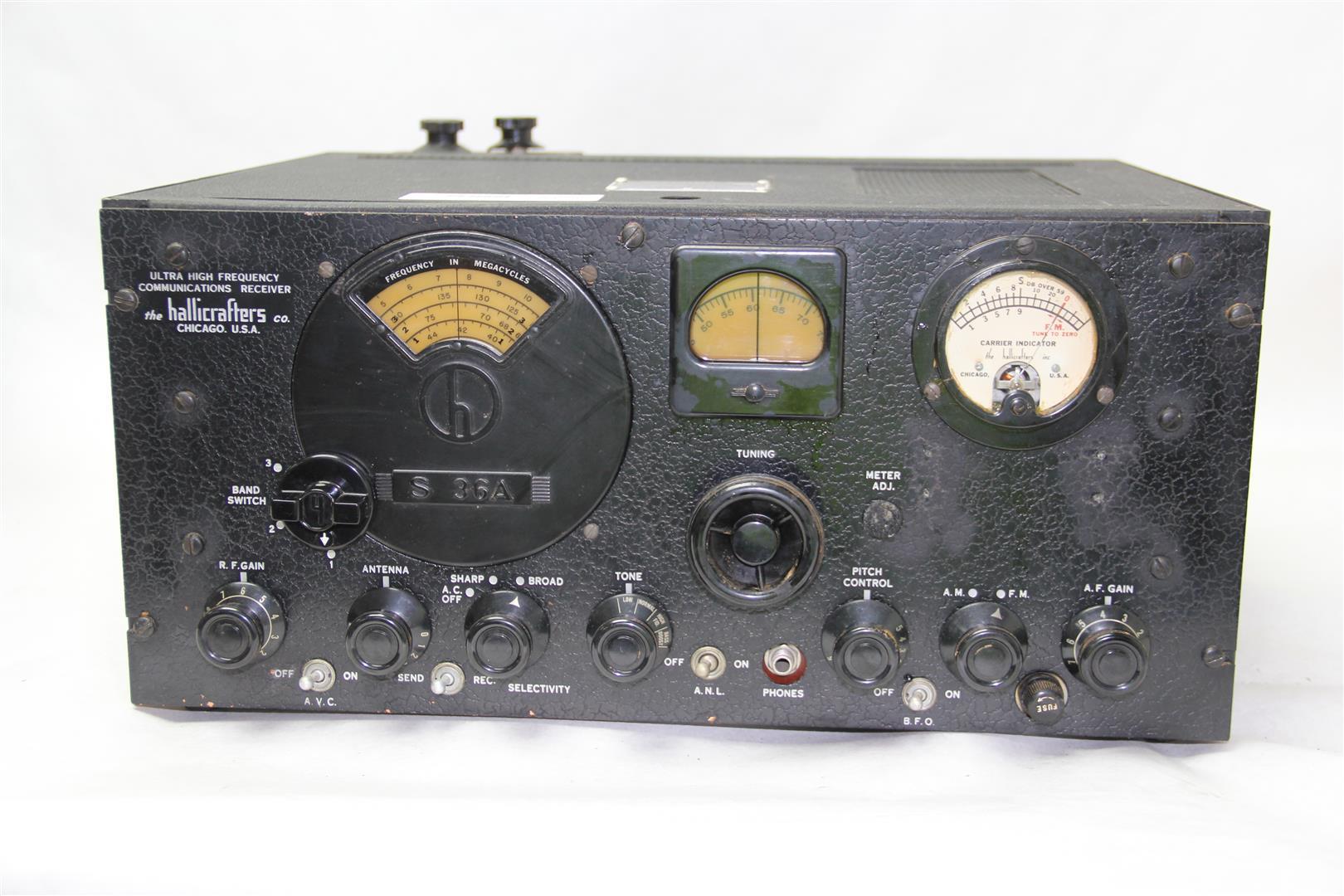 Vintage Military Radios 57