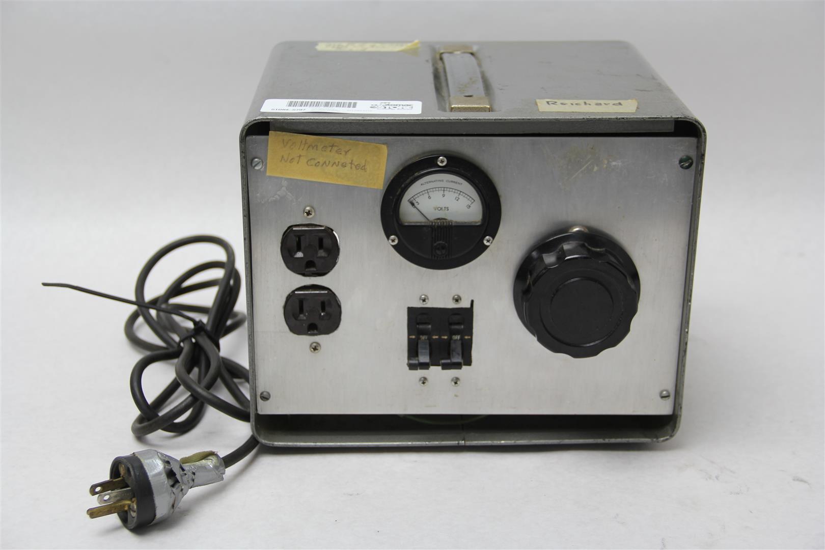 20 Amp 110v Variac Autotransformer Voltage Regulator Powerstat 0130v