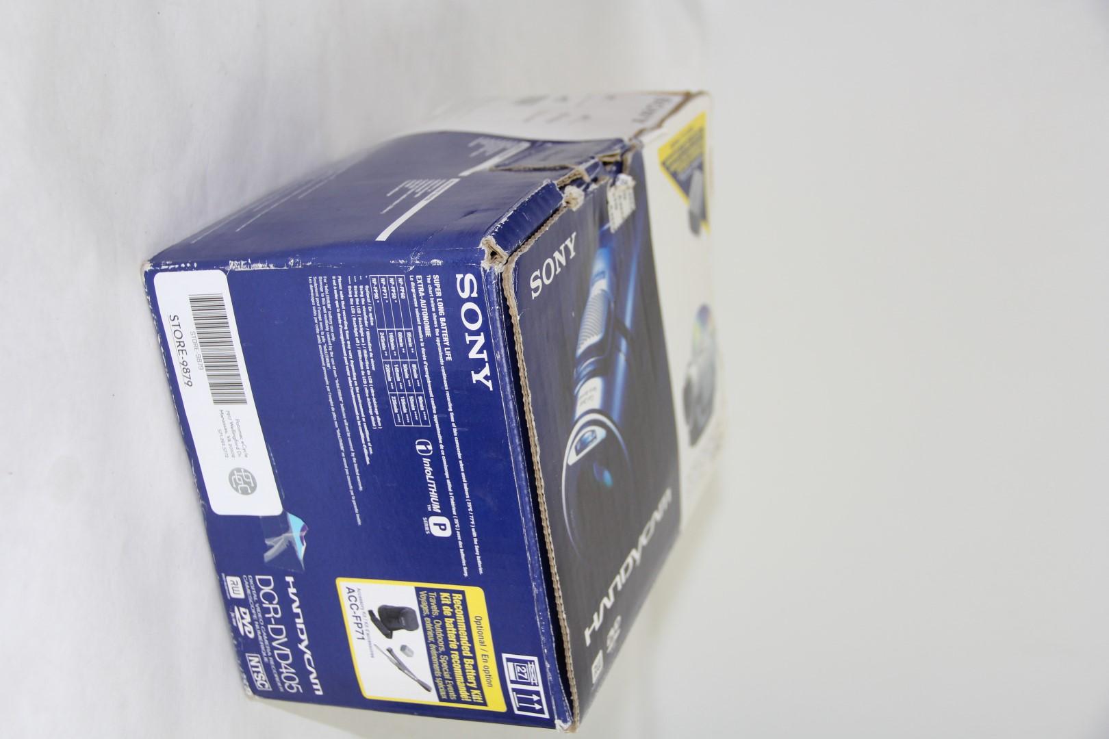 инструкция по sony handycam dcr dvd405