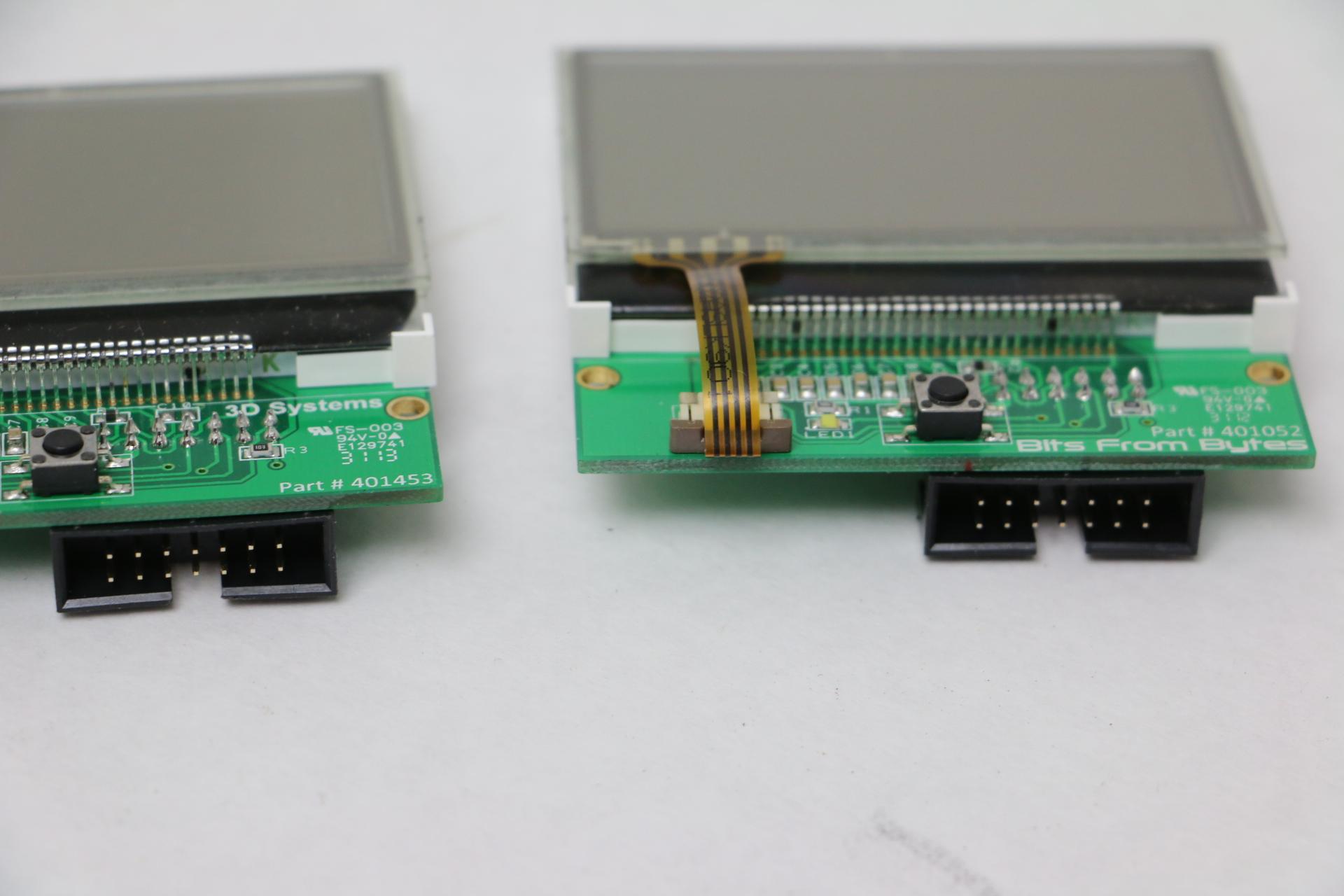 (2)NEW 3D Systems LBL-CC242-4001-5W01 Display Panels 130922 B4 CI064-4040-06